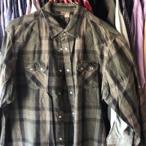 Men's long sleeve Guess button up XXL